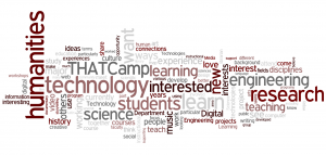 The participants' answer in Word cloud.